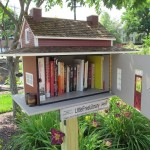 Una tipica Little free library