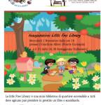 La prima Little Free Library a Ponte Galeria